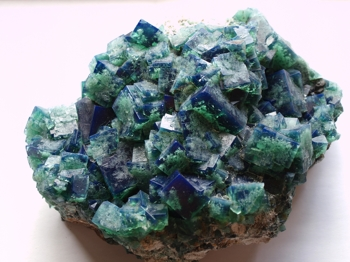 Fluorite - Rogerley  Mine, Weardale, UK
